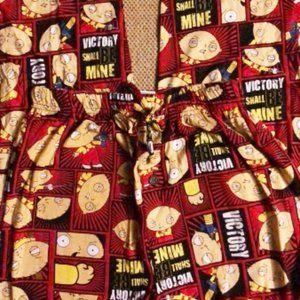 Pajama pants Stevie Family Guy mens new S cotton